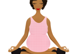 illustration femme enceinte périnée