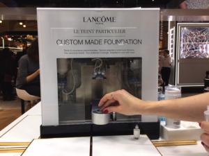 Lancôme teint particulier laboratoire
