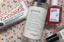 vernis, dissolvants, green, clean, éco