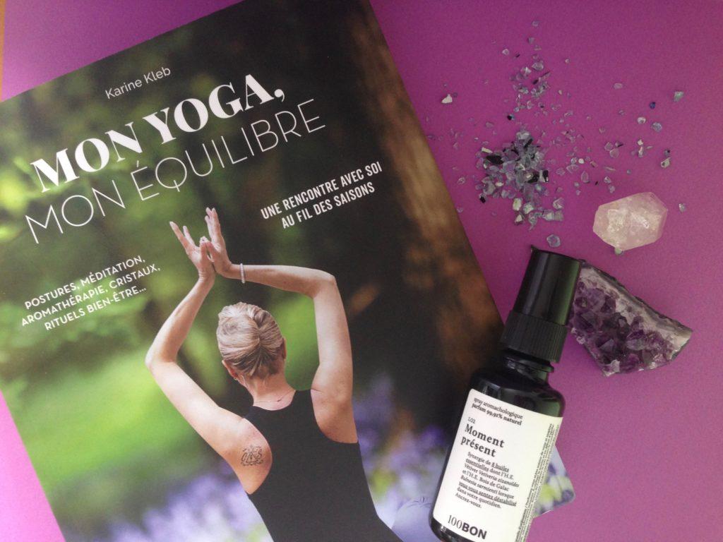 Karine Kleb, Yoga, livre, bien-être