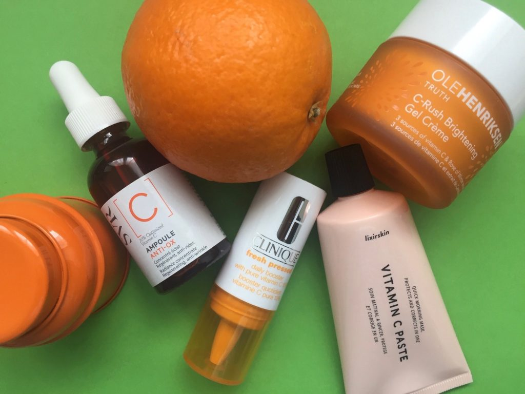 vitamine C, protection, éclat